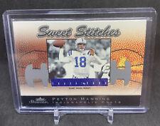 2003 Fleer Showcase Peyton Manning Jersey Relic /899 Indianapolis Colts