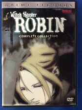 Witch Hunter Robin - Complete Collection (DVD, 2006, 6-Disc Set) -1836-152-004