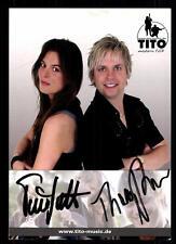 Tito Autogrammkarte Original Signiert ## BC 54293