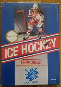 NES Ice Hockey Factory Sealed REV-A With HANGTAG H-SEAM- MINT CONDITION 🔥🕹