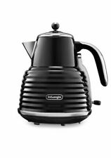 De'Longhi Scultura KBZ 3001.BK 1.5 L Kettle - Black - New