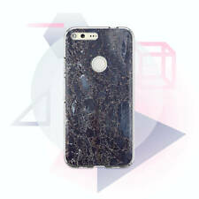 Dark Phone Case Google Phone Marble Cover Google Pixel 3 XL Protective Silicone