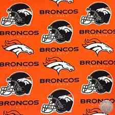 Denver Broncos NFL 100% Cotton Fabric 6718 D