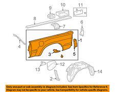 TOYOTA OEM 05-13 Tacoma Rear Fender Quarter Panel-Bed Right 6550004903