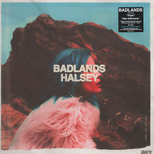 Halsey Badlands Blue Vinyl LP OOP Ltd Ed