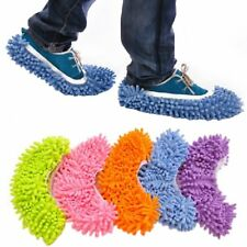Dust Mop Slippers Shoes Floor Cleaner Clean Easy Bathroom Office Kitchen