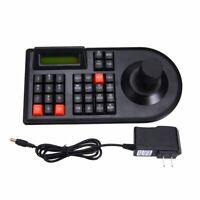 Black Keyboard Controller Joystick for CCTV RS485 PTZ Speed Dome Camera Bracket
