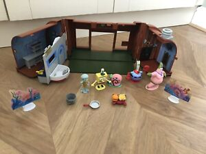 Spongebob krusty krab Playset With Extra Characters