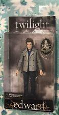 "NIB! Edward Cullen Twilight 7"" Action Figure Crest NECA  Reel Toys Not Mego"