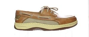 Sperry Top Sider Mens Billfish Dark Tan Boat Shoes Size 12 (2E) (1631525)