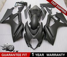 PAINTED MATTE BLACK For SUZUKI GSX-R 600/750 2006-2007 ABS Fairing kit Bodywork