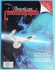 AMERICAN CINEMATOGRAPHER July 1989 Star Trek V
