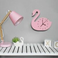 Nordic Wall Clock Wooden Kids Room Watch Home Decoration Cute Designed Accessory