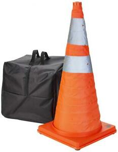 """Mutual Industries 17714-5-28 Collapsible Cones, 28"""" Height, 12"""" 28 Inches"""