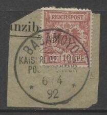 Briefstück-Briefmarken aus Deutsch-Ostafrika