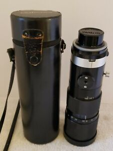 Large Bushnell Automatic Zoom Lens 1:3.8  F=80  250mm Camera Lens Pentax P-CS