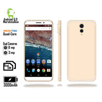 "Unlocked 4G LTE 5.6"" Android 6 Marshmallow 4Core SmartPhone + Fingerprint Unlock"