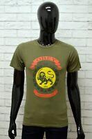 Maglia OBEY Uomo Taglia Size S Maglietta Shirt Man Cotone Manica Corta Slim Fit