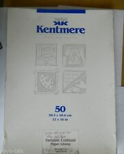 Kentmere Photographic Paper 50 Sheet Count