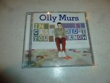 Olly Murs - In Case You Didn't Know - 2011 UK 13-track CD Album