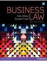 Business Law by Andy Gibson, Douglas Fraser (Paperback, 2015)