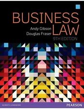 Business Law 9E by Andy Gibson, Douglas Fraser (Paperback, 2015)