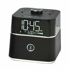 Brandstand Cubieblue BPEBL Charging Alarm Clock With Bluetooth Speaker
