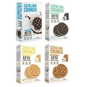Catalina Crunch Keto Sandwich Cookies - Variety Pack