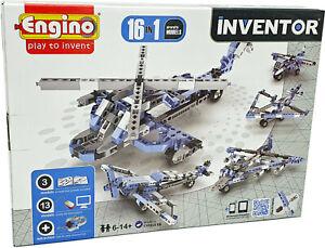 Engino® INVENTOR »16in1« Aircrafts Models Konstruktionsbausatz Baukasten Bausatz