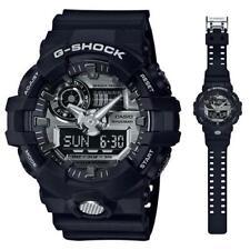Casio G Shock GA710-1A Mens World Time Analog Digital Shock Resist Black Watch