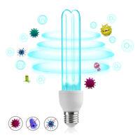 25W E26 E27 UV Ozone Sterilizer UVC Bulb Germicidal Lamp Disinfection Light 254n