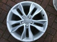 "GENUINE AUDI A3 SPORTBACK 8P 17"" SPARE KINETIC ALLOY WHEEL 8P0601025CC FREE P&P"