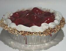 """�Fake Food Strawberry Pie 6W"""" x 2H""""�(Set Of 1)"""