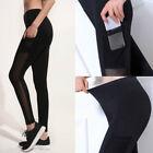 Women Sports Pants High Waist Yoga Fitness Leggings Running Gym Stretch Trousers