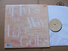 JANET JACKSON,THAT´S THE WAY LOVE GOES(4x),  maxi m(-)/m(-) virgin rec USA 1993