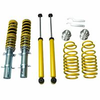 Fits 1999-2005 VW MK4 GOLF / GTI / JETTA / NEW BEETLE Yellow Street Coilover Kit