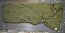 Used Canadian military 1 piece Cold weather outer arctic sleeping bag ( #O-10 )