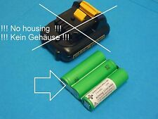 DeWalt DCB120 DCB121 DCB123 10,8 V  2.0Ah  Ersatzakku Akku Batterie NEU löten