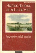 Livre Histoires de terre, de sel et de vent J.P Bourcereau book