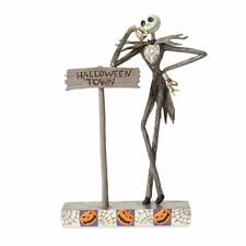 "Jim Shore NIGHTMARE BEFORE CHRISTMAS""Welcome to Halloween Town"" Jack Skellington"
