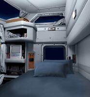 "Semi truck,Campe RV sheet sets,by jakes cab solutions, mattress  35""x79""x7.5"""