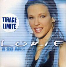 """CD  single limité de LORIE, """"A 20 ans"""", """"sans contrefaçon"""", SOUS BLISTER,  NEUF."""