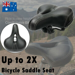 Road Mountain Bike Bicycle Saddle Spring Cycling Seat Soft Padded Cushion Cover