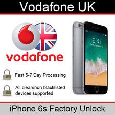 Vodafone UK iPhone 6s Factory Unlocking Service