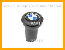 NEW BMW E10 E12 E23 E24 BAV Leather Round Logo Shift Knob 25 11 1 203 074