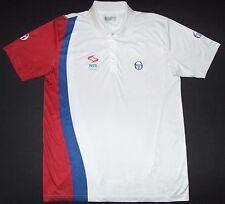 Serbia Novak Djokovic Sergio Tacchini Tennis Shirt Davis Cup