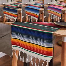 Marocain Macramé Style Chemin de Table Coton Frange for Mariage Fête Maison Déco