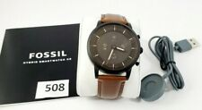 Fossil Men's Hybrid Smartwatch HR with Always-On Readout Display FTW7008