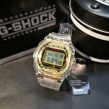 DW-5735E-7 CASIO G-SHOCK 35th Anniversary Glacier Gold Limited Watch GShock