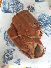 childrens genuine leather left handers glove.dual hinge by regent.used twice
